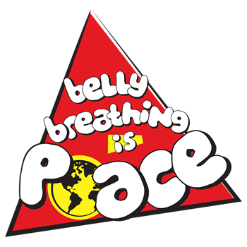 Belly breathing is PEACE.